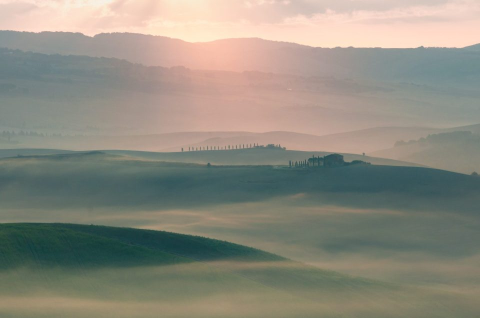 Best photo locations of Val d'Orcia